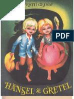 Fratii Grimm Hansel Si Gretel 1989 Ilustratii de Adriana Mihailescu