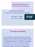 Forecast Uncertainty