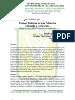 Control Biológico de una población expuesta a Isofluorano