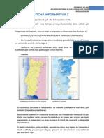 Ficha Informativa 2 - Variação espacial da temperatura