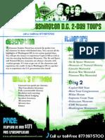 Washington DC student tour 2-Day