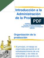 Introduccion a La Adm. de La Produccion