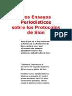 Dos Ensayos Periodísticos sobre Los Protocolos de Sion