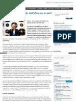 La gestion collective du droit d'auteur en péril - partie 1