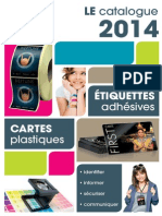 Catalogue Cartes Etiquettes 2014
