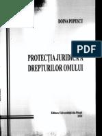 Doina Popescu - Protectia Juridica a Drepturilor Omului