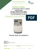 Manuale Elster a1700 Rev.0d Ems