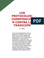 LOS PROTOCOLOS. CONSPIRACIÓN CONTRA LA TRADICIÓN - José Luis Jerez Riesco