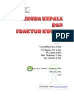 Cedera Kepala Fraktur Kruris Files of Drsmed