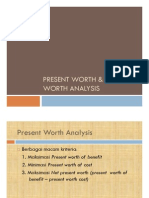 7-Present Worth & Annual Worth Analysis
