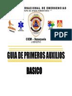 Guia Primeros Auxilios. Pre - Militar - Zea