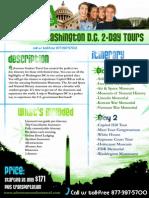 Washington DC educational tours 2-Day