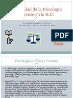 Actualidad de la Psicología Forense en la RD 2012.ppt