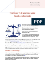 The Rules to Organising Legal Contests on Facebook