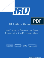 IRU White Paper on the Future of Commercial Road Transport in the European Union