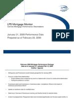 LPS Mortgage Monitor Jan09