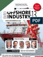 Brochure Dutch Offshore Industry 2013