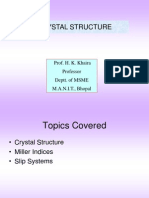 F Crystalstructure