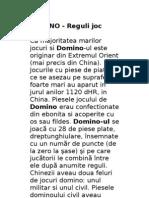 Reguli Joc Domino Si Yams