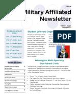 Military Affiliated Newsletter - Feb 2013
