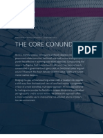 The Core Conundrum - Guggenheim Partners LLC Portfolio Strategy