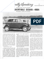 Model A Ford - The A400 Story