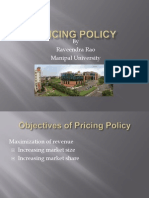 Pricing Policy