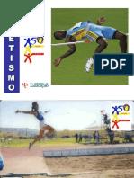 Atletismo Saltos Comprimento Altura Triplo