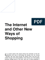 The Internet and Other New Ways of Shopping