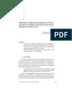 Problemas teórico-metodológicos para o estudo da variação linguística nos níveis gramaticais mais altos