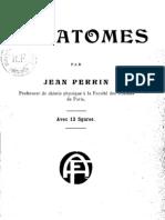 Jean Perrin Les Atomes -1913