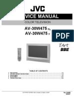 AV30W475 Service Manual