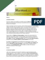 16 Trucos Para Word 2007