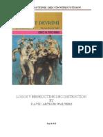LOGOS V Benedictine Deconstruction