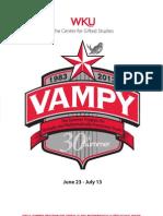 VAMPY 2013 Application