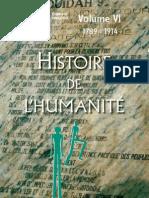 Histoire de l'Humanite, Volume VI_ 1789-1914 - Collectif