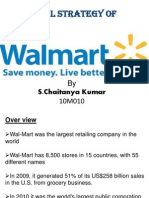 Sales Model of WAL-MART