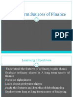 Equity - financial management