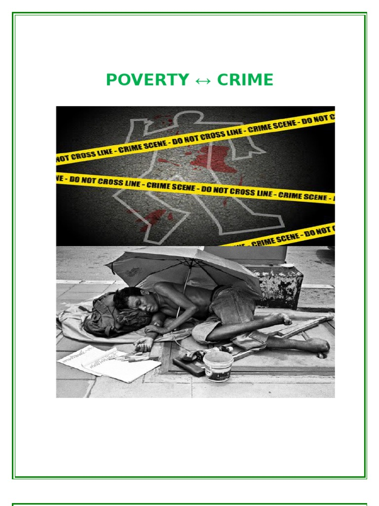 "literature review on poverty and crime A conceptual framework for the conflict, crime and violence agenda  a literature review of latin america and the caribbean,"" world bank policy  crime on economic growth and poverty reduction in eastern europe the issues of displacement and."