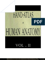Hand Atlas of Human Anatomy Vol II