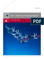 Groupe Steria Sca 2011 Half Year Financial Report Ve 01