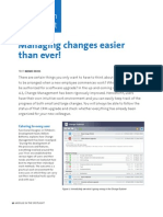 Managing Changes Easier Than Ever