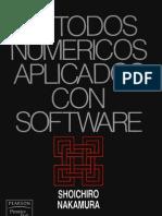 Metodos Numericos Aplicados Con Software - Sholchlro Nakamura