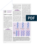 DNA in a spin (Meselson–Stahl)