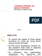 Advanced Speed Control Techniques of Brushless Dc Motor