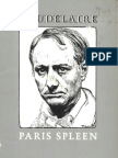 Paris Spleen -- Baudelaire