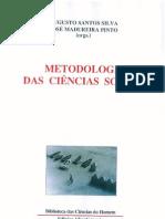A S Silva - Metodologia das Ciências Sociais