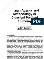 Allen Oakley Human Agency and Methodology in Classical Political Economy 1993
