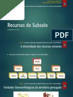 2.1 Recursos Do Subsolo