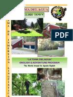 English Program-folleto La Toma Del Agua